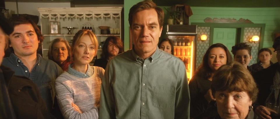 """<p>If you're in the mood for a Christmas flick with an unlikely premise, look no further than <strong>Pottersville</strong>. The movie stars Michael Shannon as a local businessman who inadvertently attracts loads of Bigfoot-seeking tourists to his small town around the holidays. It also stars Judy Greer, Christina Hendricks, and Ron Perlman.</p> <p>Watch <a href=""""https://www.netflix.com/title/80217545"""" class=""""link rapid-noclick-resp"""" rel=""""nofollow noopener"""" target=""""_blank"""" data-ylk=""""slk:Pottersville""""><strong>Pottersville</strong></a> on Netflix now.</p>"""