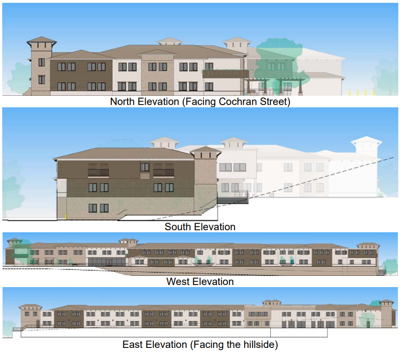 This is the building design for Melrose West, a proposed 108-unit senior community at the center of a lawsuit after the city of Simi Valley denied the project.