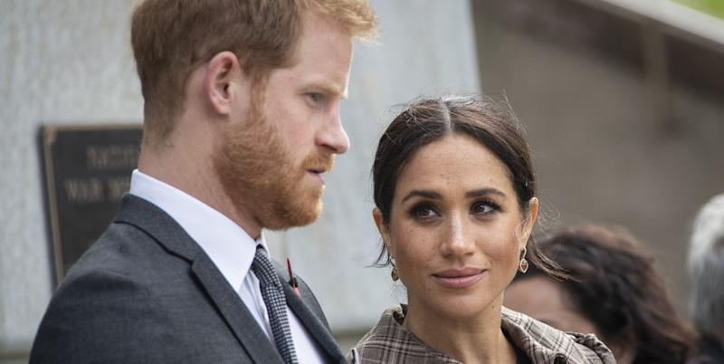 The Palace Breaks Silence On Meghan Markle And Prince Harry's Voting Comments