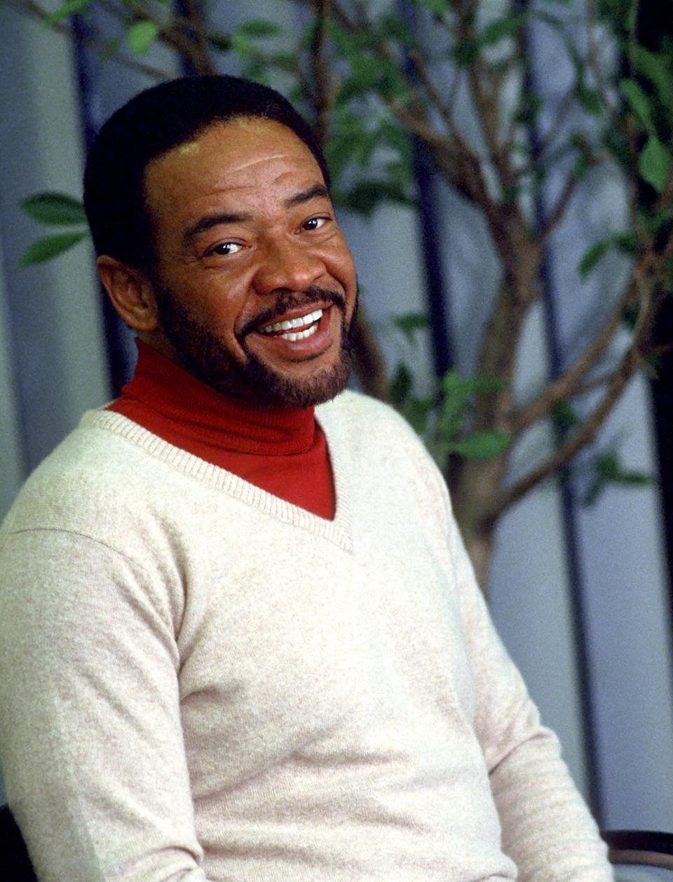 Singer/songwriter Bill Withers poses for a portrait session in 1985. (Photo by Michael Ochs Archives/Getty Images)