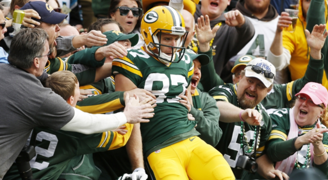 Jordy Nelson knows this routine well (AP)