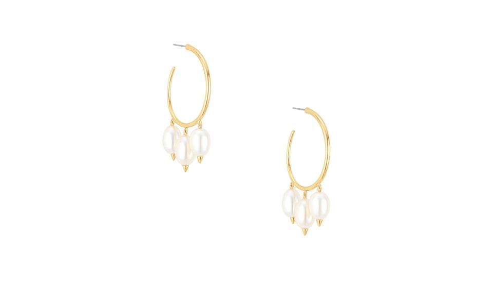 "<p>These are the perfect earrings for day or night.<br><br>Natriella Hoops, $59,<a href=""https://www.stelladot.com/p/natriella-pearl-hoops"" rel=""nofollow noopener"" target=""_blank"" data-ylk=""slk:stelladot.com"" class=""link rapid-noclick-resp""> stelladot.com</a><br><br></p>"