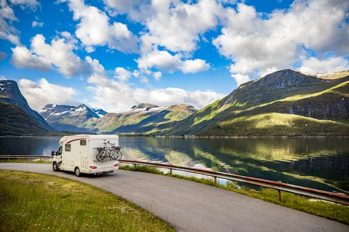 RVs take the lodging out of the equation and minimize contact as people return to the road this summer.