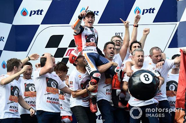 "Campeón del mundo, Marc Márquez, Repsol Honda Team <span class=""copyright"">Gold and Goose / Motorsport Images</span>"