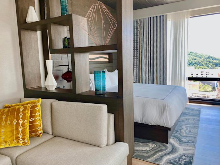 7. Kimpton bed and couch