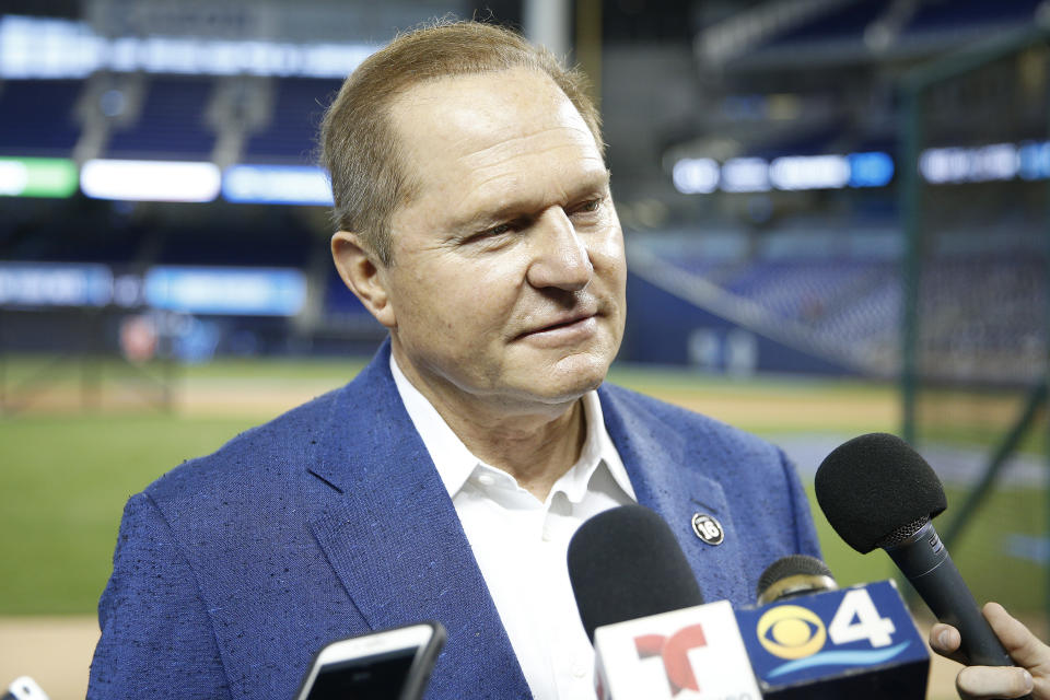 Scott Boras clients fetched $812 million in three days at the winter meetings. (Photo by Michael Reaves/Getty Images)