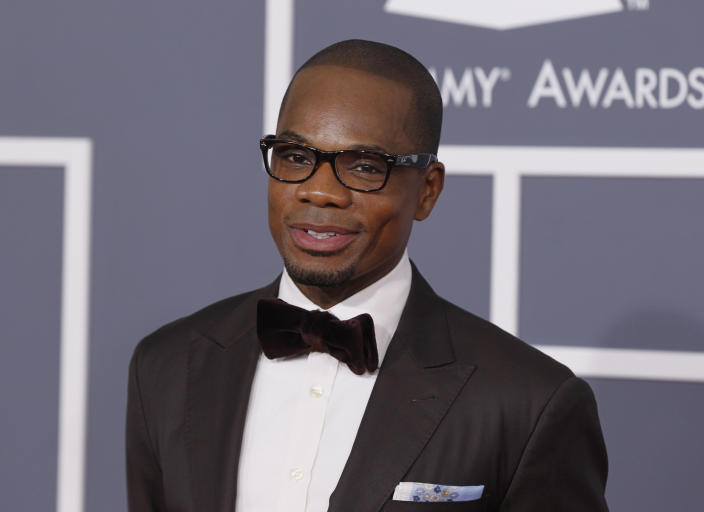 Gospel singer Kirk Franklin apologized after his son Kerrion shared audio of his expletive-filled rant.  (Photo: REUTERS/Danny Moloshok)