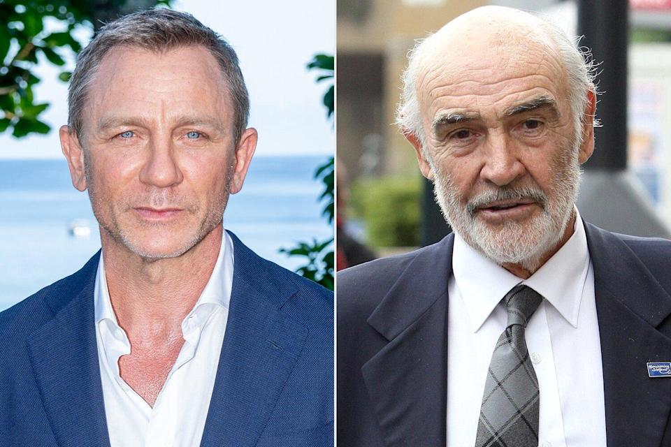 Daniel Craig calls Sean Connery 'one of the true greats' in tribute to late star