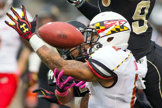 Maryland coach Randy Edsall looking for more from senior WR Deon Long