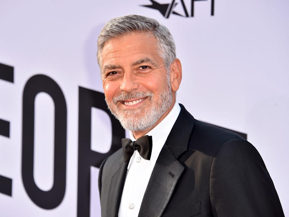 George Clooney partnered with Rande Garber and Mike Meldman to create the tequila.