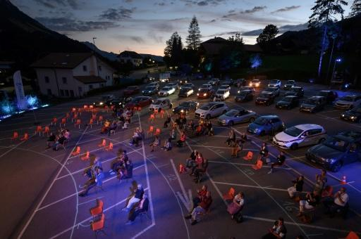 The drive-in festival offered a novel way to return to live music