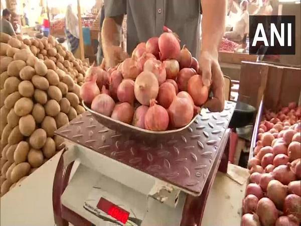 High onion prices have affected the household budget of many families amid the pandemic. (Photo/ANI)