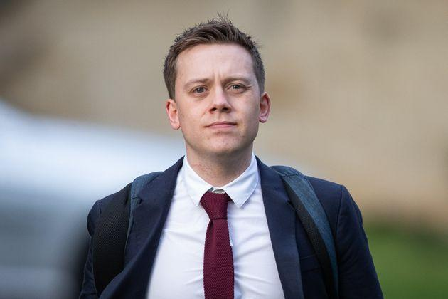 Owen Jones outside Snaresbrook Crown Court where he was giving evidence in the trial of James Healy.