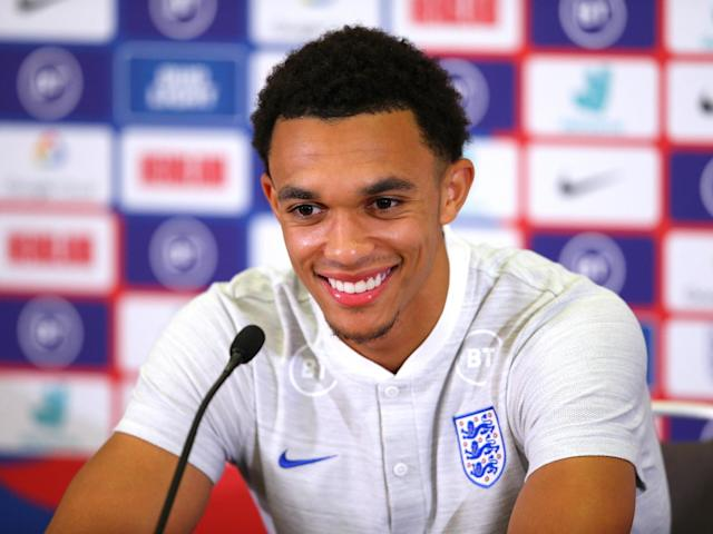 England and Liverpool full-back Trent Alexander-Arnold: Getty Images