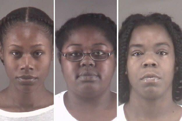 Tonacia Yvonne Tyson, Taneshia Deshawn Jordan and Marilyn Latish McKey (Photo: Winston-Salem Police Department)