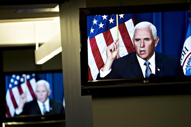 Vice President Mike Pence. (Photo: Andrew Harrer/Bloomberg via Getty Images)
