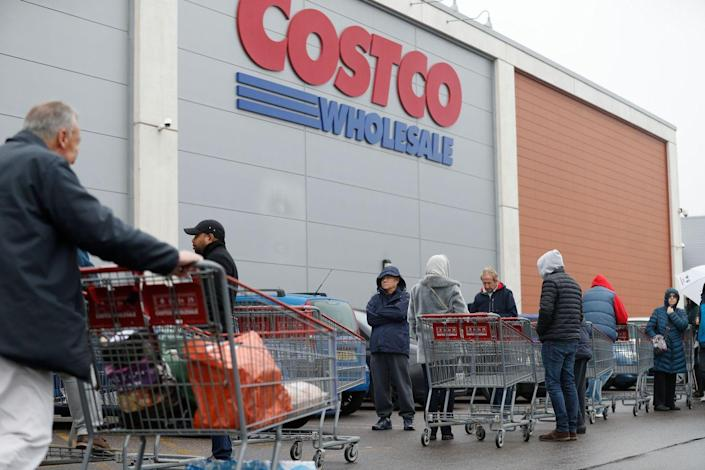 """<p>Costco's <a href=""""https://www.costco.com/my-life-costco-business-center-benefits.html"""" rel=""""nofollow noopener"""" target=""""_blank"""" data-ylk=""""slk:Business Centers"""" class=""""link rapid-noclick-resp"""">Business Centers</a> provide companies, executives and employees alike the chance to stock up on all office essentials. With even earlier hours than a traditional warehouse store, you can beat the long lines by going to one of these special locations. </p>"""