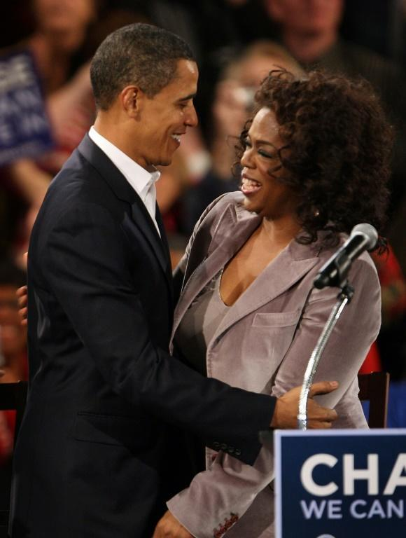 Oprah Winfrey is credited with helping Barack Obama win the 2008 presidential election