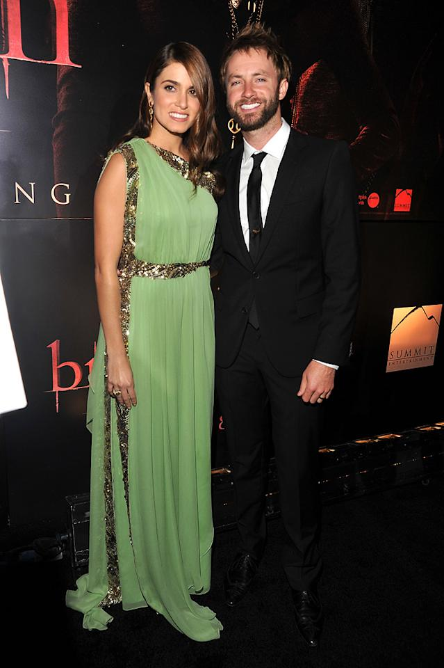"<a href=""http://movies.yahoo.com/movie/contributor/1808459018"">Nikki Reed</a> and <a href=""http://movies.yahoo.com/movie/contributor/1808882837"">Paul McDonald</a> at the Los Angeles premiere of <a href=""http://movies.yahoo.com/movie/1810158314/info"">The Twilight Saga: Breaking Dawn - Part 1</a> on November 14, 2011."