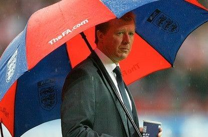 Wally with the brolly: how Steve McClaren will be remembered by England fans