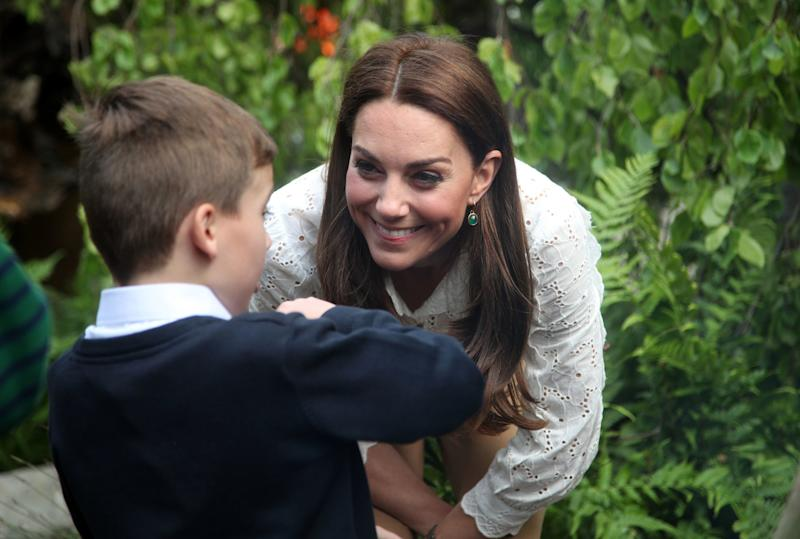 Kate Middleton Shares Her New Garden with School Kids — and Her Hope to Inspire 'Quality Time'