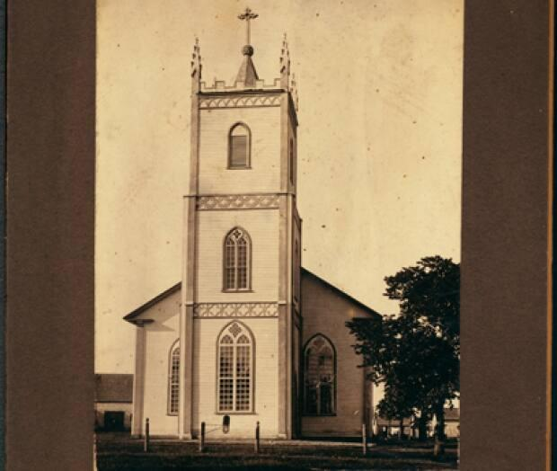 St. Augustine's Church in South Rustico is one of the oldest Catholic churches on P.E.I., built in 1838. Dorothy Palmer said her grandparents, Bernard and Bridget (Duffy) McKenna, were married there.