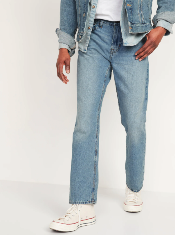 Straight Rigid Jeans. Image via Old Navy.
