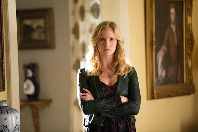 "Candice Accola as Caroline in ""The Killer,"" the fifth episode of ""The Vampire Diaries"" Season 4."