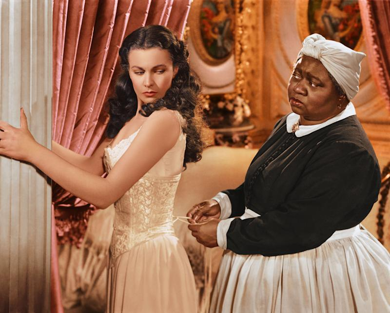 "Vivien Leigh and Hattie McDaniel in a publicity still from ""Gone with the Wind."" (Silver Screen Collection via Getty Images)"