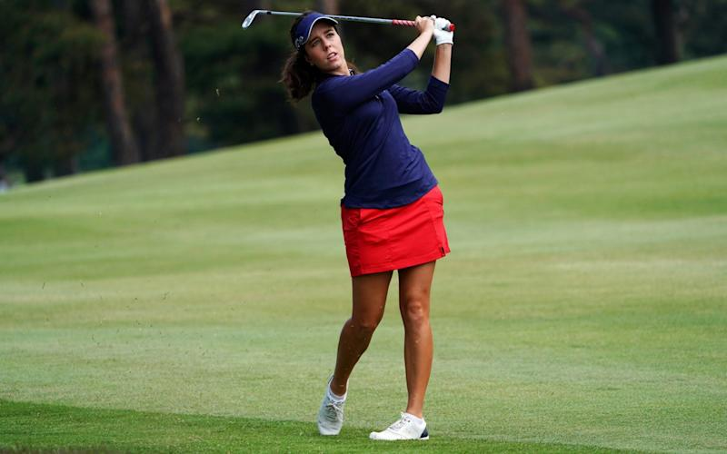 Female golfers frequently play in skirts or shorts - Getty Images AsiaPac