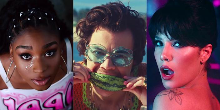 Normani, Harry Styles, and Halsey released some of the best music videos in recent memory.