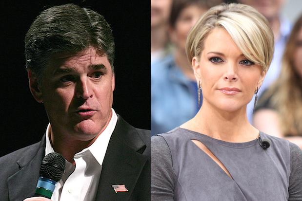 Fox News' Sean Hannity Slams Megyn Kelly for 'Clearly' Supporting Hillary Clinton