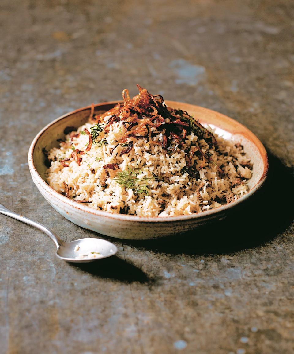 Keema sau pulao is the perfect sharing dish, especially if you are planning to eat outdoorsAsma Khan