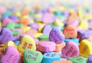 """<p> Is it even Valentine's Day without candy sweethearts? </p> <p><a href=""""http://media1.popsugar-assets.com/files/2021/01/04/988/n/1922507/950cc79ce8f352b5_laura-ockel-zAOBpEE_vV4-unsplash/i/valentine-day-zoom-backgrounds.jpg"""" class=""""link rapid-noclick-resp"""" rel=""""nofollow noopener"""" target=""""_blank"""" data-ylk=""""slk:Download this Zoom background image here."""">Download this Zoom background image here. </a></p>"""