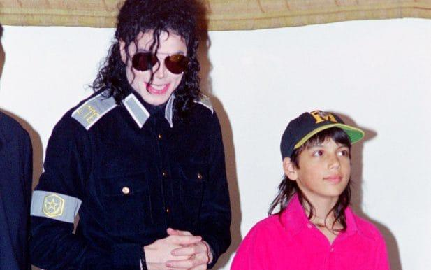 Brett Barnes (right) first met Michael Jackson (left) when he was five - Getty Images Contributor