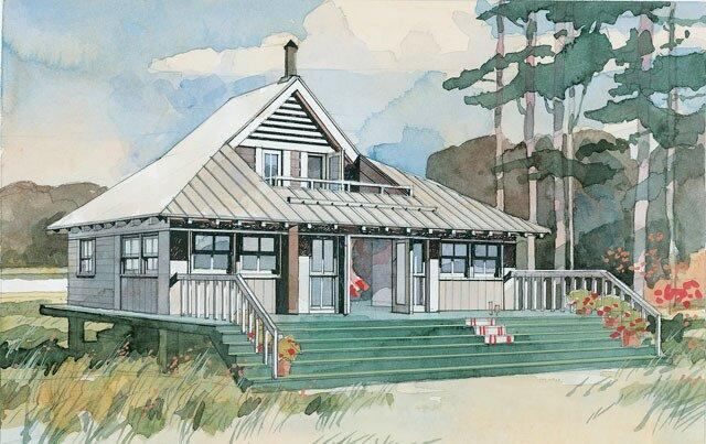 Southern Living Tiny House Plan Beach Bungalow 243