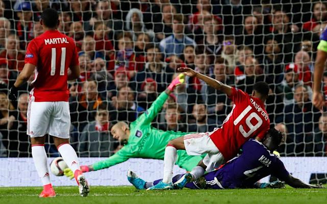 Rashford's persistence was rewarded - REUTERS
