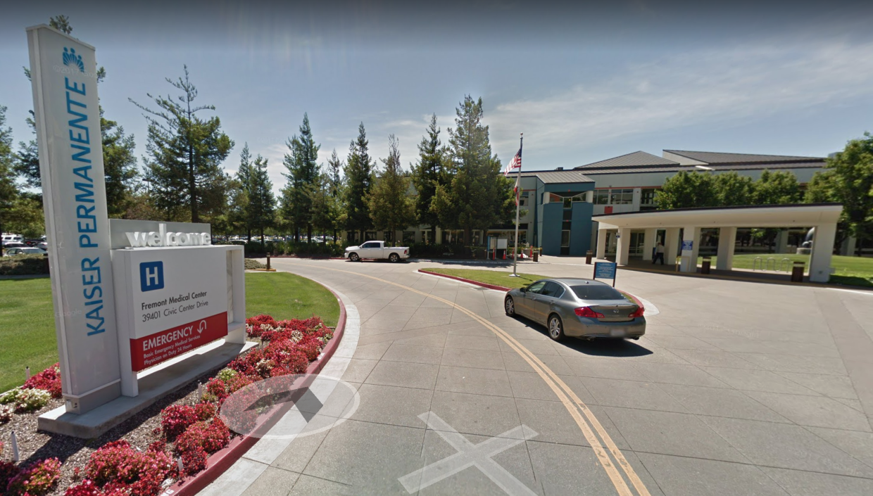 <em>Bosses at the Fremont Medical Center said they had fallen short (Picture: Google Maps)</em>