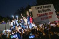 Protest after the death of a rape victim in New Delhi