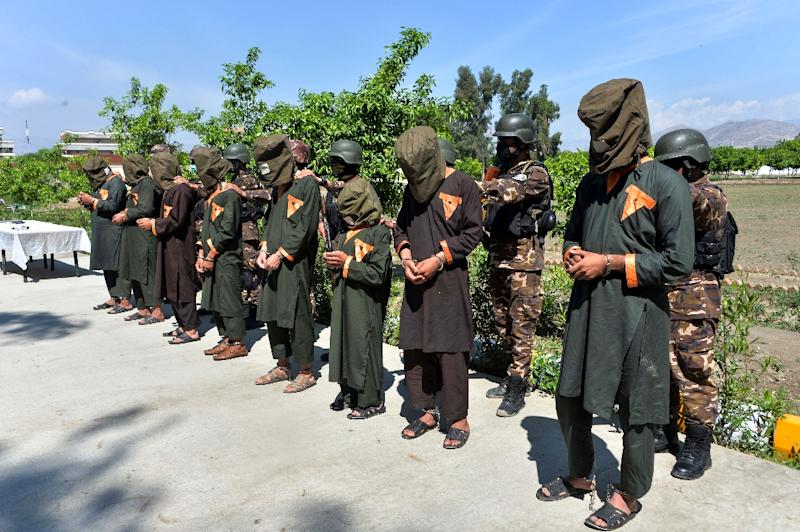 Jihadists maintain a stronghold in Nangarhar province, where Afghan security fighters arrested eight suspects in April (AFP Photo/NOORULLAH SHIRZADA)