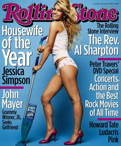 This cover was the beginning of the end for Jessica Simpson and Nick Lachey. (Photo: Rolling Stone)