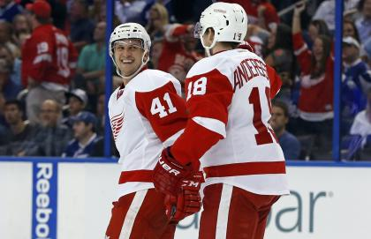 Glendening has chipped in with a couple playoff goals but his biggest strength is his shutdown ability. (AP)