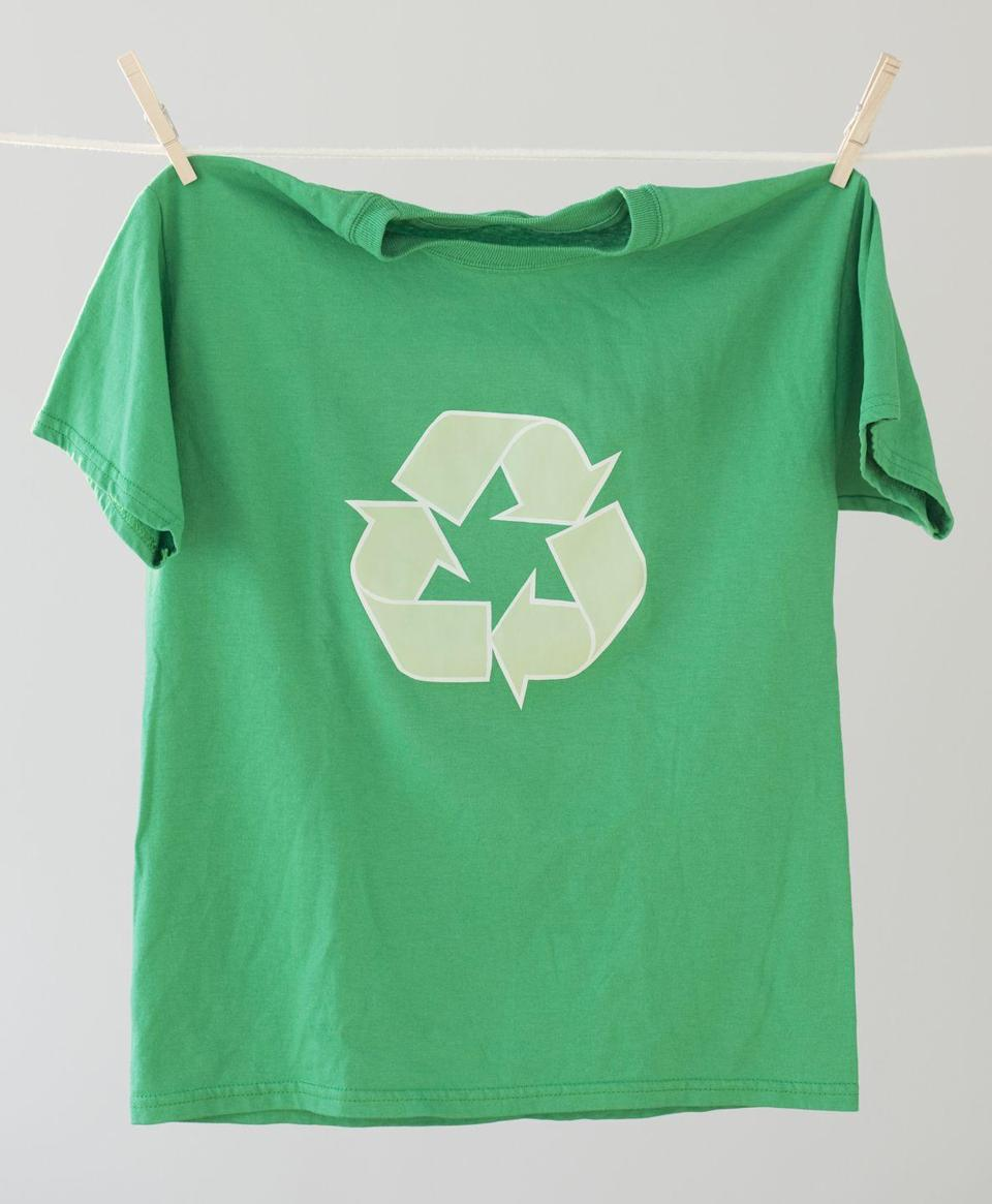"<p>If you've got the shopping bug, there are a ton of eco-friendly brands out there making clothes with minimal impact on the environment. Companies like <a href=""https://www.amazon.com/Patagonia-Fashion/b?ie=UTF8&node=2210455011&tag=syn-yahoo-20&ascsubtag=%5Bartid%7C10063.g.36077856%5Bsrc%7Cyahoo-us"" rel=""nofollow noopener"" target=""_blank"" data-ylk=""slk:Patagonia"" class=""link rapid-noclick-resp"">Patagonia</a> or <a href=""https://go.redirectingat.com?id=74968X1596630&url=https%3A%2F%2Fwww.allbirds.com%2F&sref=https%3A%2F%2Fwww.redbookmag.com%2Flife%2Fg36077856%2Fearth-day-tips%2F"" rel=""nofollow noopener"" target=""_blank"" data-ylk=""slk:Allbirds"" class=""link rapid-noclick-resp"">Allbirds</a> are trying to save the planet while making you look good.</p><p><strong>RELATED:</strong> <a href=""https://www.goodhousekeeping.com/clothing/g27154605/sustainable-fashion-clothing/"" rel=""nofollow noopener"" target=""_blank"" data-ylk=""slk:16 Best Sustainable Fashion Brands You Can Actually Trust"" class=""link rapid-noclick-resp"">16 Best Sustainable Fashion Brands You Can Actually Trust</a></p>"