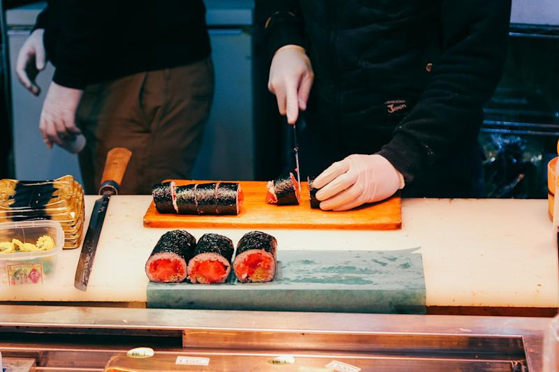 The operator of three Tokyo Sushi outlets has been fined for underpaying staff. (Photo: Getty)