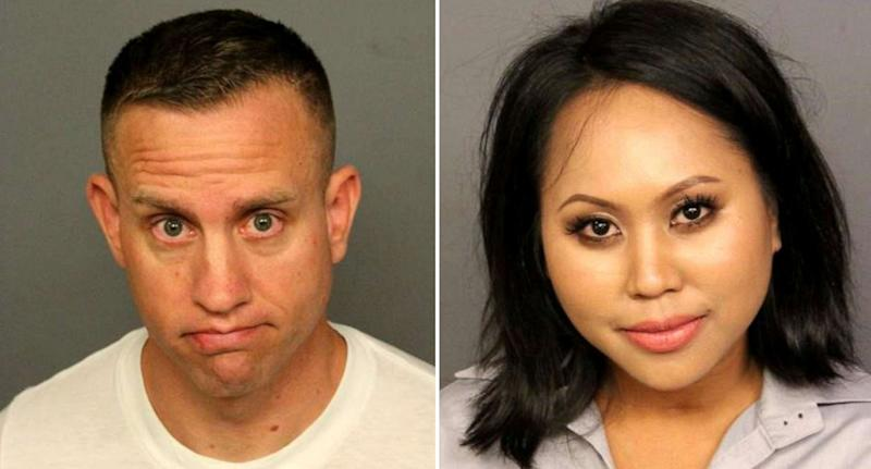 William Thomas and Marisha Sporer will face court over the incident. Source: Denver Police Department