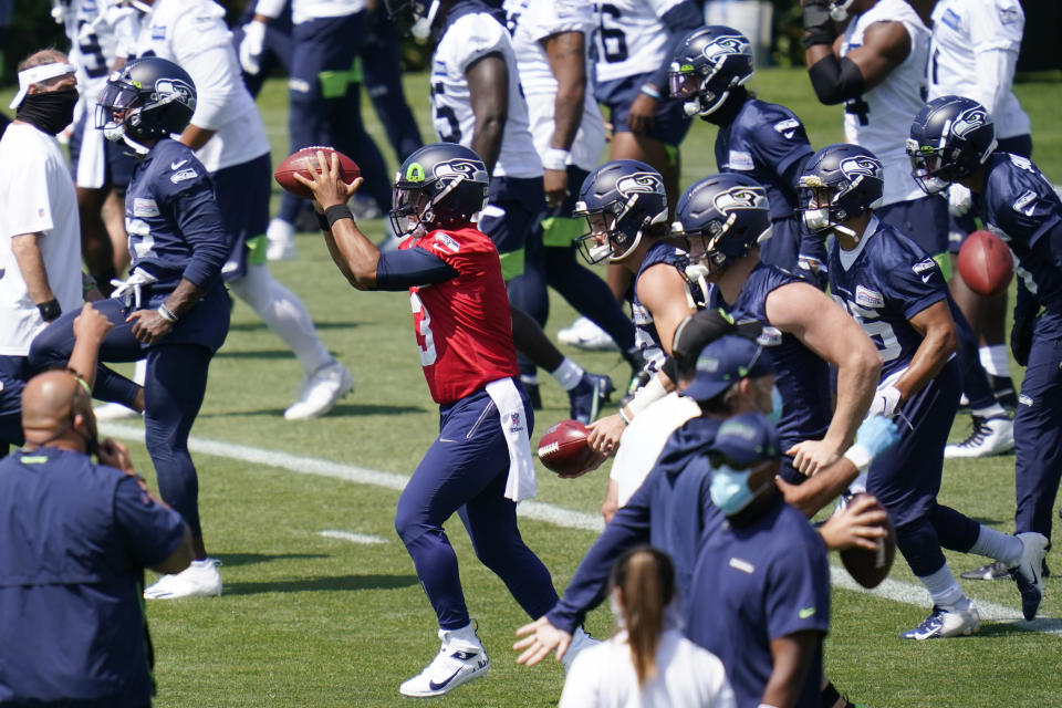 'Let Russ Cook?' Seahawks QB Wilson would be fine with that