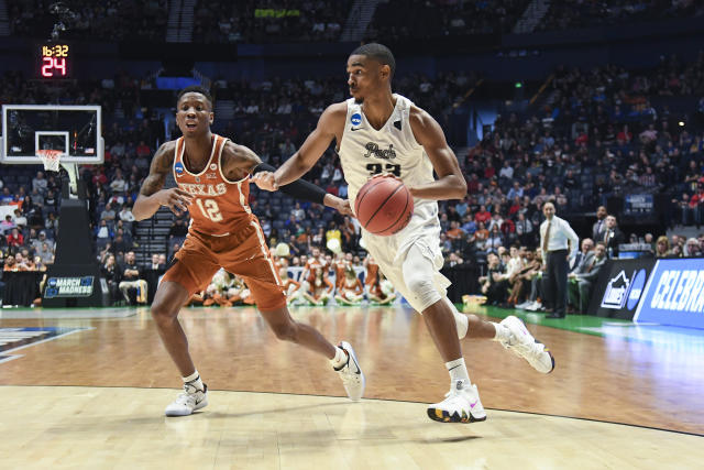 Texas and Nevada played the second overtime game of the 2018 NCAA tournament so far. (Getty)