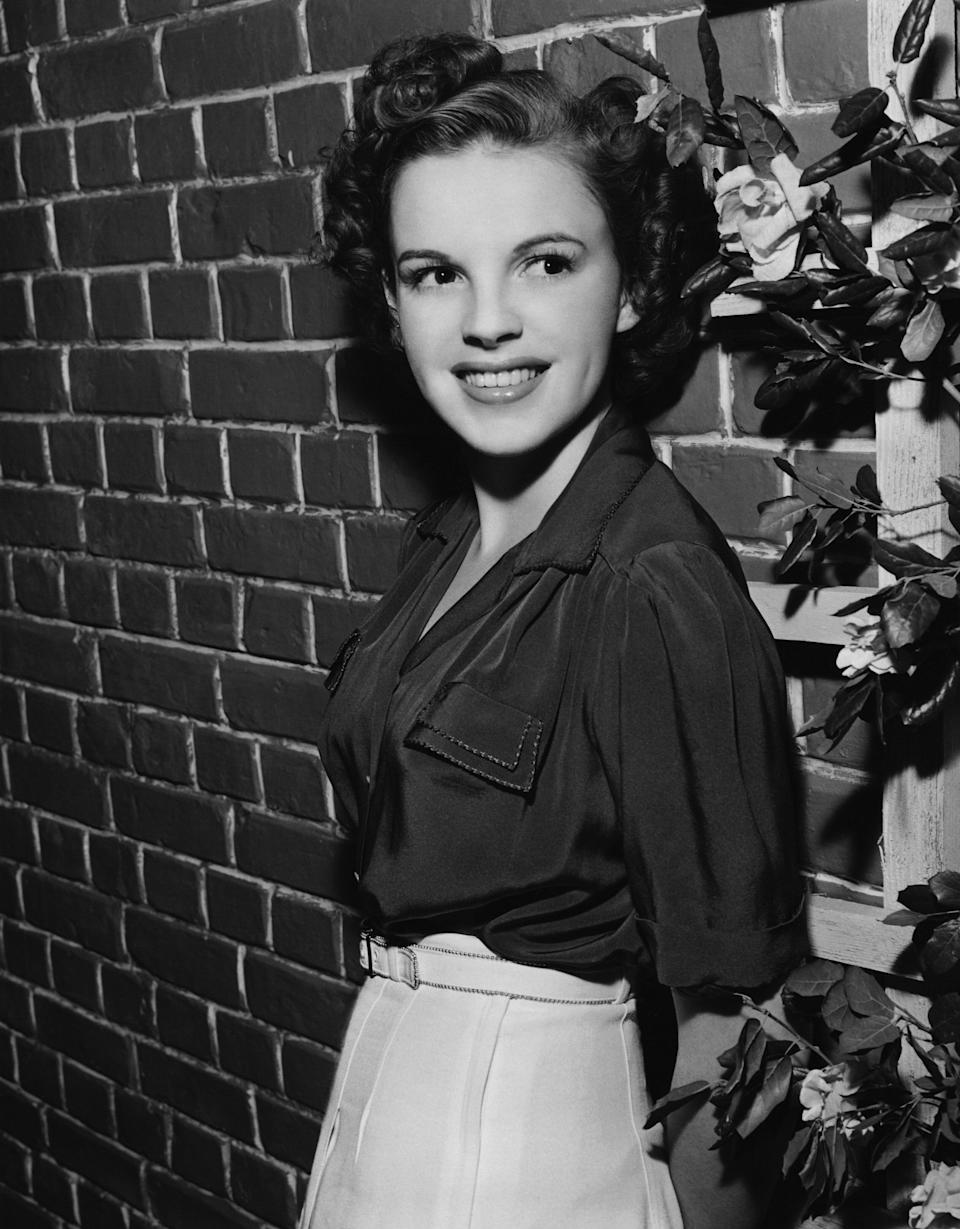 The actress in California sometime in 1941.