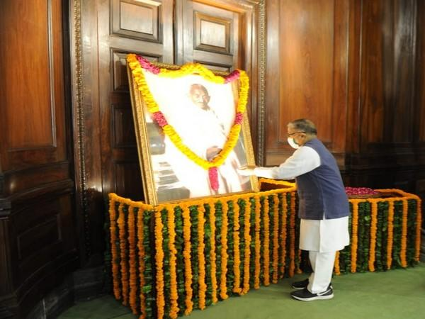A visual from the Parliament on Friday. [Photo/ANI]