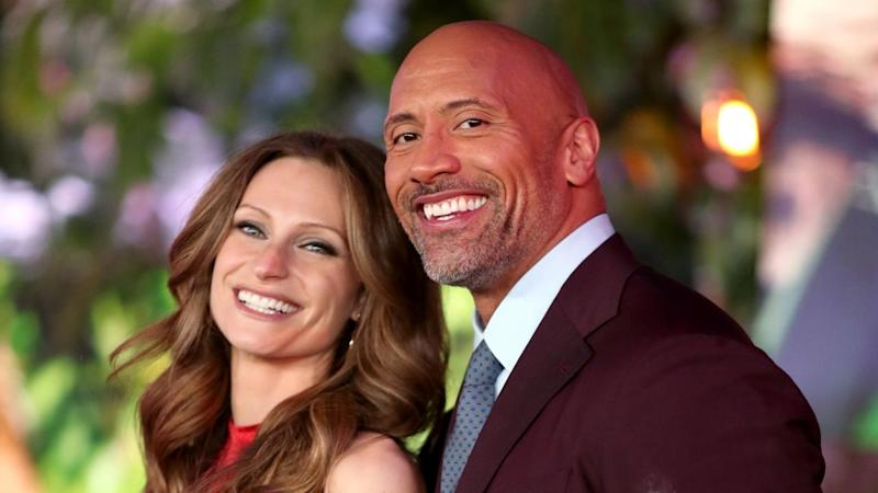 Dwayne Johnson Jokes He Ll Name His Baby Girl After His